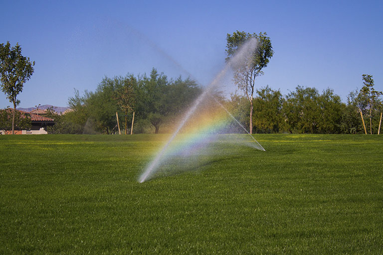 Riego parques y jardines - Watering parks and gardens